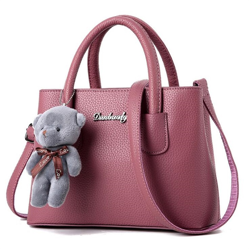 Women's handbag 2017 New PU Leather Crossbody Bags For Women Luxury Brand designer Bear Bag Women Messenger Bag Female hand bag leftside new pu leather handbag female fashion designer shoulder bag lady leisure brand women messenger bag for women hand bags
