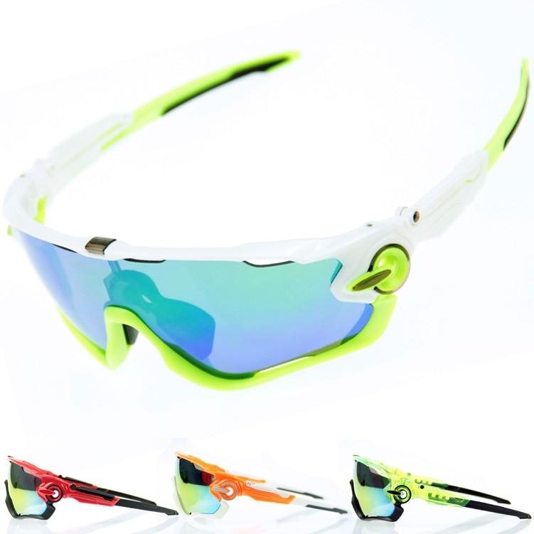fcd87979bc 2015 OK marca polarizado bicicleta de montaña gafas de sol para hombres  mujeres Ciclismo deporte de la bicicleta correr para hombre 3 lente Ciclismo  gafas ...