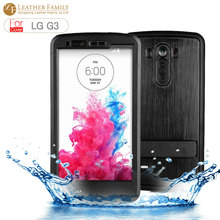 For LG G3 Case,Original Redpepper life water dirt shock proof ip68 waterproof Cover for LG D850 D851 D855 LS990 Bags color black
