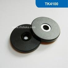 Диаметр: 35 мм RFID Смарт-Тегов, RFID Монета Тег, ПВХ RFID Метки, RFID, Смарт-Жетон 125 КГц с TK4100/EM4100 Чип бесплатная доставка