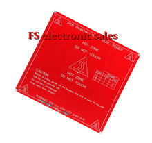 Hot Sale 1PCS Red PCB Heated Heat bed Heatbed MK2B Upgraded MK2A for Mendel CNC 3D printer Hot Bed HotBed Support 12V 24V