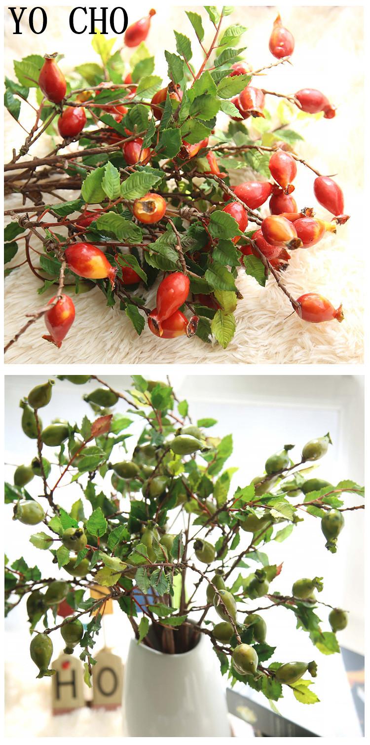 Pomegranates, berries, artificial fruit10
