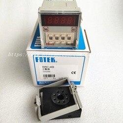H5C-4D FOTEK Zähler 90-250VAC 4 Ziffern Preset Zähler Mit Basis Neue & Original