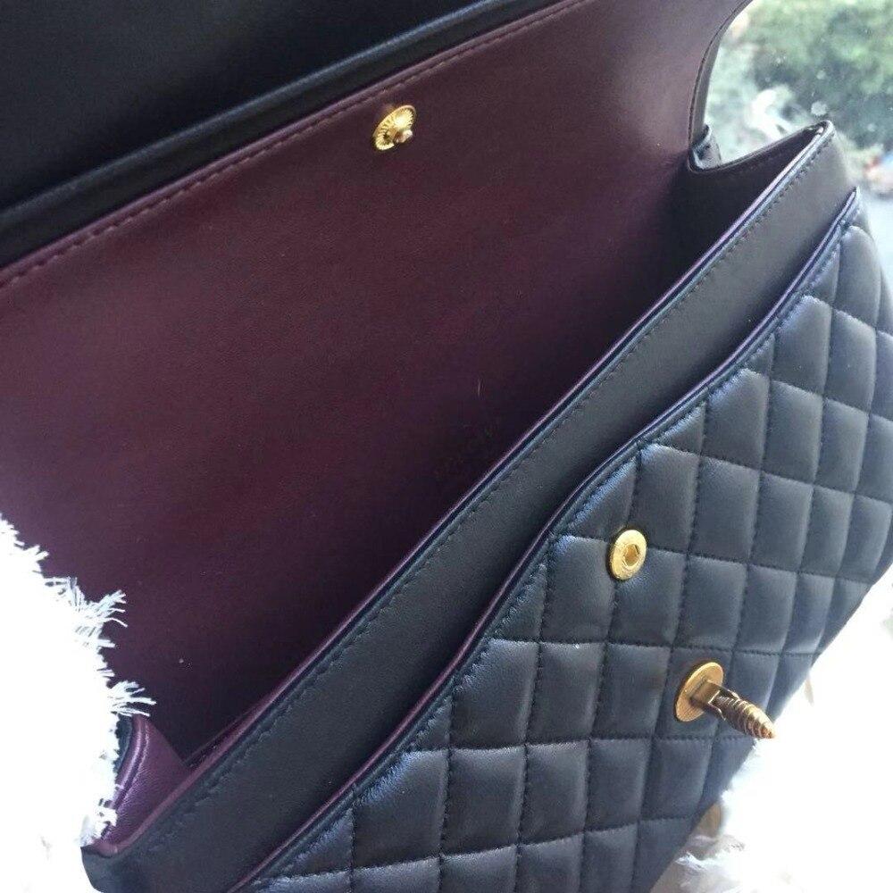 Luxus Veranstalter Berühmte Klappe Leder Designer Qualität Handtaschen Lammfell Lgloiv Frauen Top Hohe Marken Taschen Klassische q6zHzX