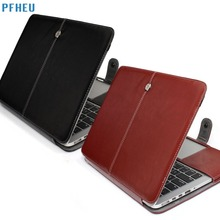 PFHEU,PU Leather Bag For Apple Macbook pro Retina Air 11 12 13 15,Air 13 A1369 A1466,New pro A1707 A1706 A1708 Flip case cover
