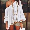 Mujeres Top Moda Real de Algodón Blusas Tallas grandes Blusa de La Gasa Camisa Tops Blusas Camisas Femininas 2017 Ropa Mujer Chemise Femme