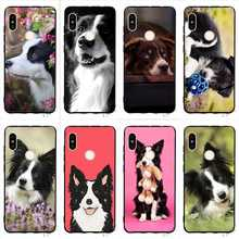 Fashion Border Collie Dog Phone Cover for Xiaomi Redmi Note 5 Case 4A 5 Plus 5A Prime 4X 6A 6 Pro Covers Skin border collie car stickers decorating dog accessories