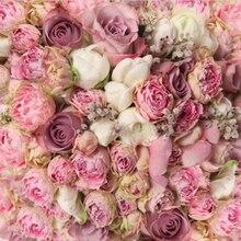 Flor rosa Floral casamento Fundos Computador impresso backdrops Vinil pano de Alta qualidade