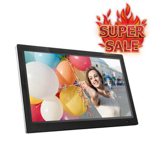 15 Inch LED Backlight HD 1280*800 Full Function Digital Photo Frame Electronic Album digitale Picture Music Video