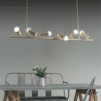 Современные подвесные светильники для бара, кухни, ресторана, подвесные светильники, светодиодные светильники для магазина одежды, декорат...