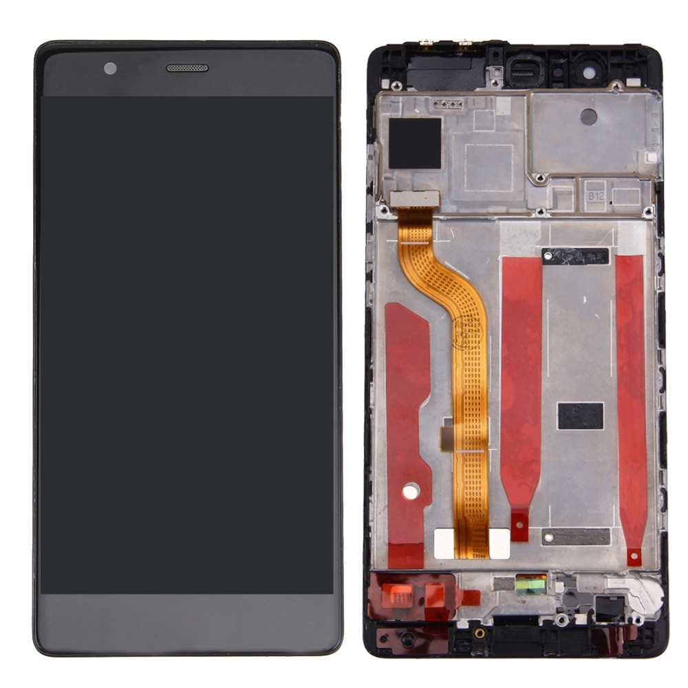 iPartsBuy for Huawei P9 Standard Version LCD Screen and Digitizer Full Assembly with FrameiPartsBuy for Huawei P9 Standard Version LCD Screen and Digitizer Full Assembly with Frame