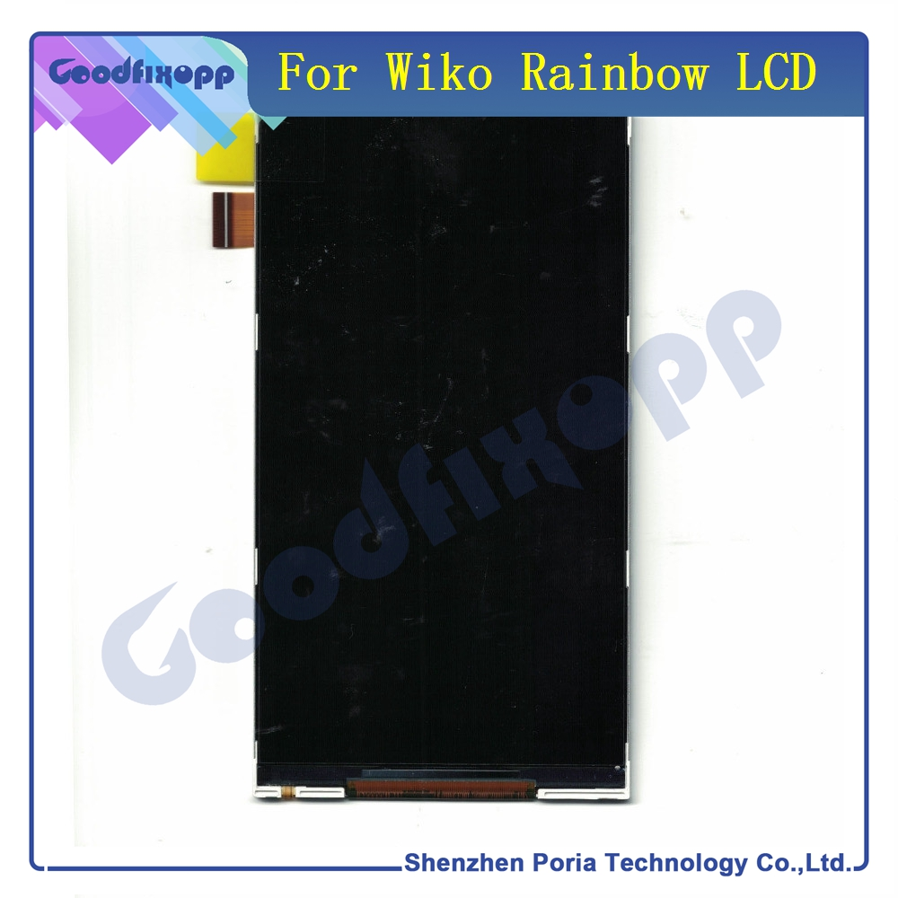 For Wiko Rainbow LCD Display Assembly Digitizer Touch Screen Panel For Wiko Phone Replacement Parts LCD Display For Wiko Rainbow