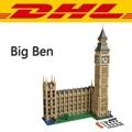 2016 Nueva LEPIN 17005 4163 unids Big Ben Torre de Elizabeth Kits de Edificio Modelo de Bloque de Ladrillo de Juguete de Regalo Regalo Compatible 10253