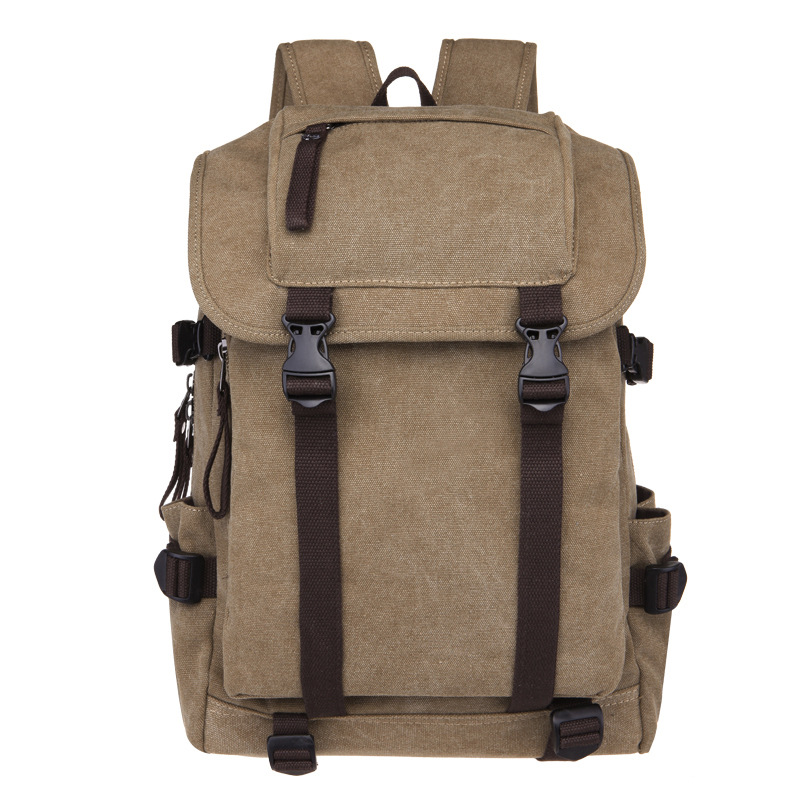 Backpack Vintage Canvas Backpack Schoolbag Male Travel Bags Large School Bags Leisure Mochila Rucksack