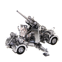 3D Metal Puzzles Model Germany 88 Air Defense Anti Tank Artillery Jigsaw Adult Kids Educational Toys Collection Christmas Gifts