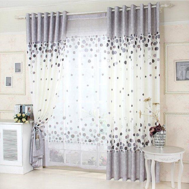 Einfache Stil Kreis Europäischen Amerikanischen Stil Garten Vorhang Shading  Vorhänge Wohnzimmer Esszimmer Bedrrom Vorhang 027 U0026