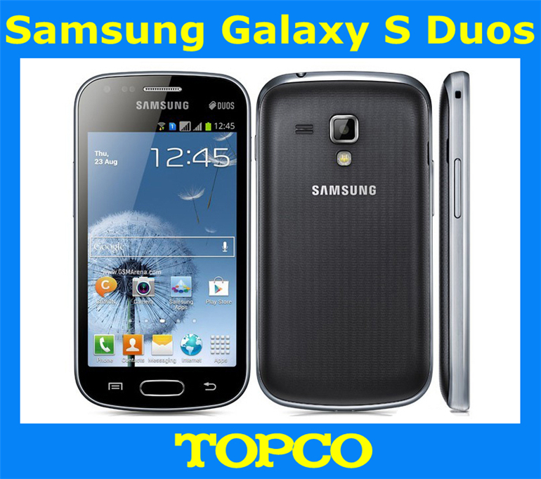 samsung galaxy s duos s7562 dual sim phone unlocked 3g gsm mobile phone 4 0 39 39 wifi gps 5mp 4gb. Black Bedroom Furniture Sets. Home Design Ideas