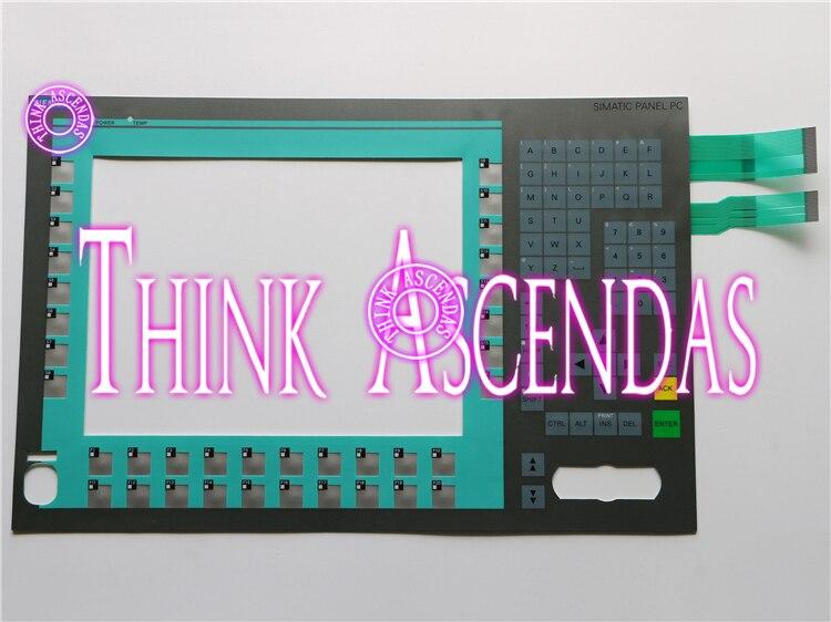 1pcs New FOR PANEL PC 677 PC 877 12 K A5E00747062 Membrane Keypad1pcs New FOR PANEL PC 677 PC 877 12 K A5E00747062 Membrane Keypad
