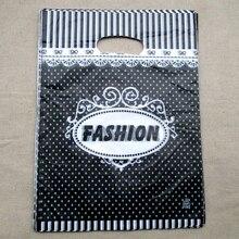 500pcs 15x20cm Christmas design Gift Bags Plastic Boutique Pouches Shopping Package Bag  01502038