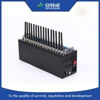 16 портов модема Wavecom Q2406, 16 sim-карты GSM GPRS модемный пул, wavecom GSM 16 sim-карта модемный пул Q2403 GSM GPRS модем usb