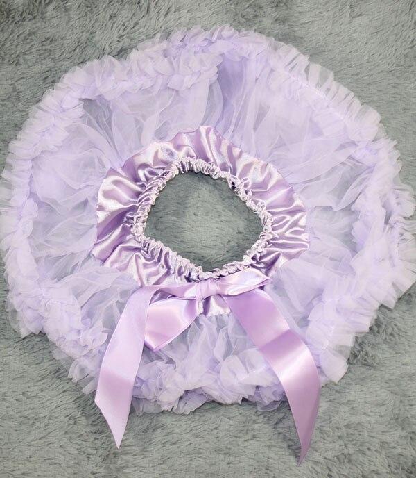 Пышная юбка для малышей Мягкая шифоновая Пышная юбка-пачка для малышей Юбка-пачка для маленьких девочек детская одежда юбка-пачка для новорожденных - Цвет: Лаванда