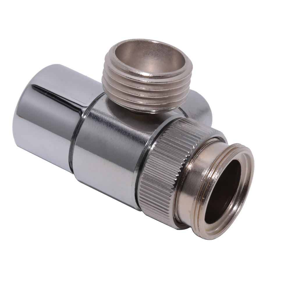 brass diverter aerator for kitchen sink mixer tap bathroom shower basin faucet spout replacement part m22 x m24 polished chrome