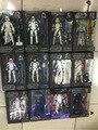 Série 6 Ação Anime Figuras Darth Vader de Star Wars Preto Kylo Ren Boba Fett Stormtrooper 6 polegada Filme Figuras Kid Brinquedo Das Crianças