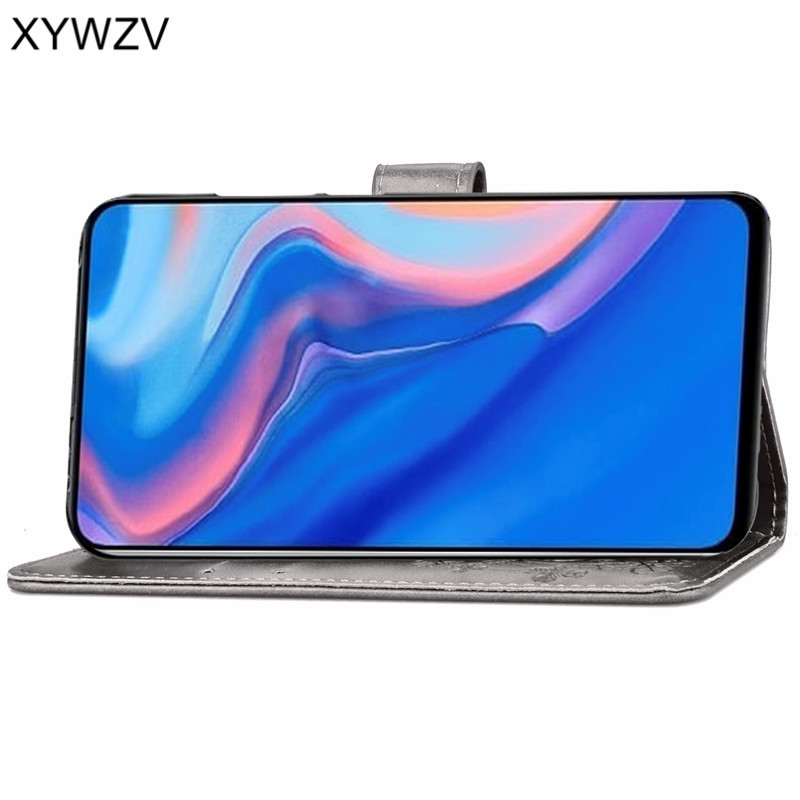 Image 3 - Huawei Y9 Prime 2019 Case Soft Silicone Filp Wallet Shockproof Phone Bag Case Card Holder Fundas For Huawei Y9 Prime 2019 Cover-in Flip Cases from Cellphones & Telecommunications