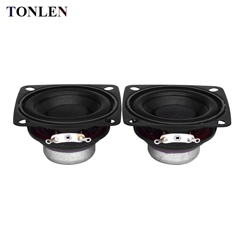 2pcs Full Range 2 inch Speaker 15W DIY Soundbar Boombox Unit Portable Radio 10W 20w 4 ohm speaker HIFI Bluetooth Speakers 55mm