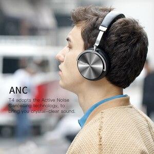Image 4 - מקורי Bluedio T4 פעיל רעש ביטול אלחוטי bluetooth אוזניות wired אוזניות עם מיקרופון עבור טלפון xiaomi samsung