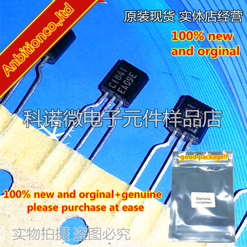 10pcs 100% New And Orginal 2SC1841 C1841 TO-92 NPN SILICON TRANSISTOR In Stock
