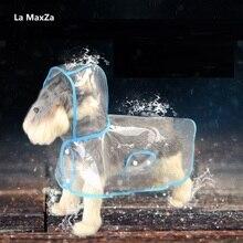 La MaxZa Fashion Transparent Dog Raincoat Waterproof Jacket Coat Outdoor Rainwear  New 2019 summer Pet Products