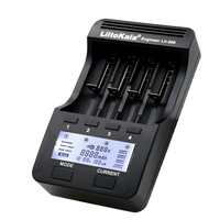 Lii 500 Digital Battery Charger Battery Capacity Test 18650 26650 14500 10440 AA AAA Ni MH Rechargeable Battery Back