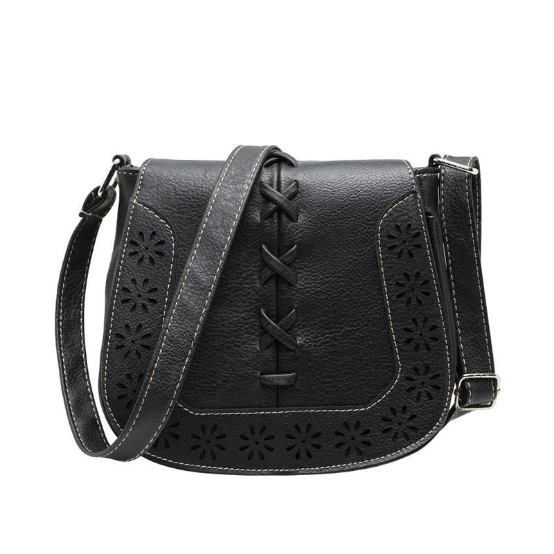 High Quality Women 's Handbag Spanish Brand New 2016 hollow out Crossbody Bags Women Leather Handbags Shoulder Small bag high quality women s handbags