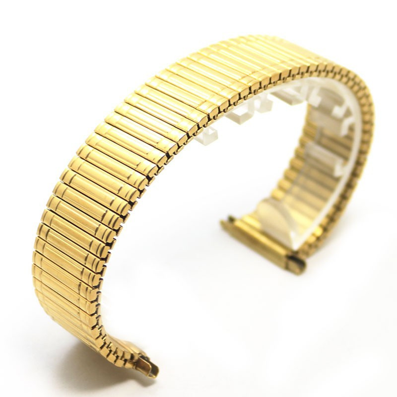 New Arrival Watchband Gold Stainless Steel WatchStrap Straight End Bracelet 12mm 14mm 16mm 18mm Buckle Watch Accessories watchbands accessories silver stainless steel watch strap straight end bracelet 12mm 14mm 16mm 18mm buckle watches hot