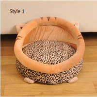 Large Dogs Bed Warming mini Dog House Soft Material Pets Pad Dog Kennel Summer Winter For Pet Dog Bed
