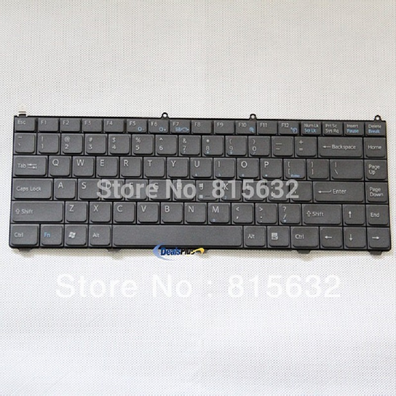 Laptop keyboards for Sony AR VGN-AR, FE VGN-FE Black US version - KFRSBA040A