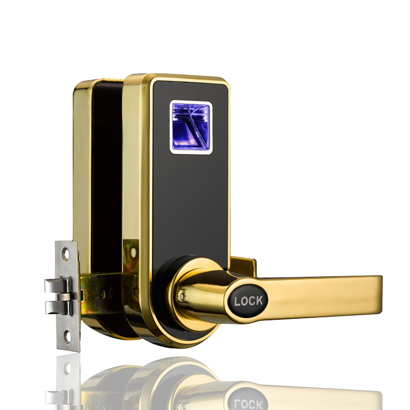 fingerprint lock indoor bedroom lock is easy to install for apartment