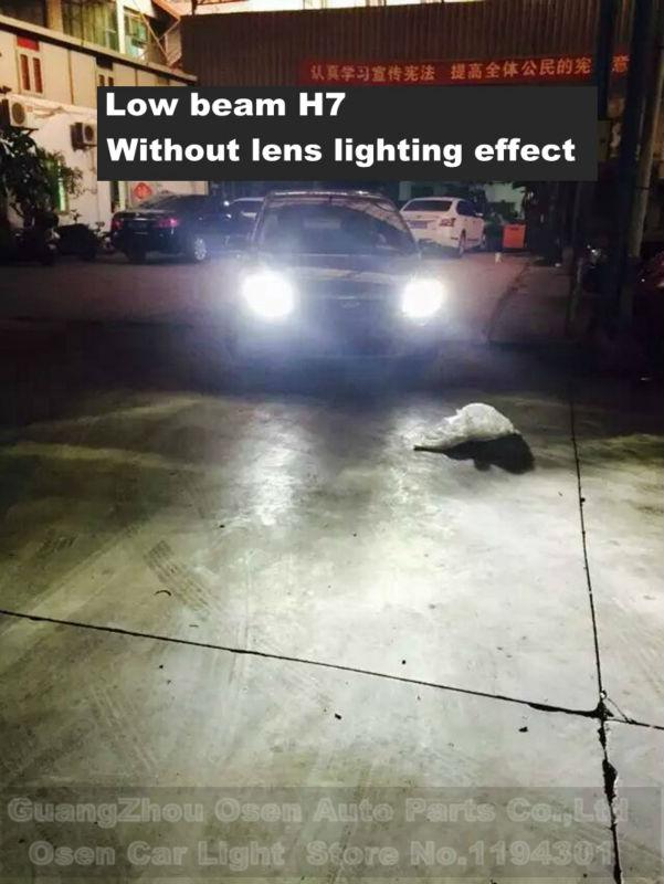 40W H7 led CREE Chips headlights car H1 H8 H9 H119005 HB3 9006 HB4 H3 H4 H13 9004 9007 LED headlight headlamp bulbs 4800LM 5