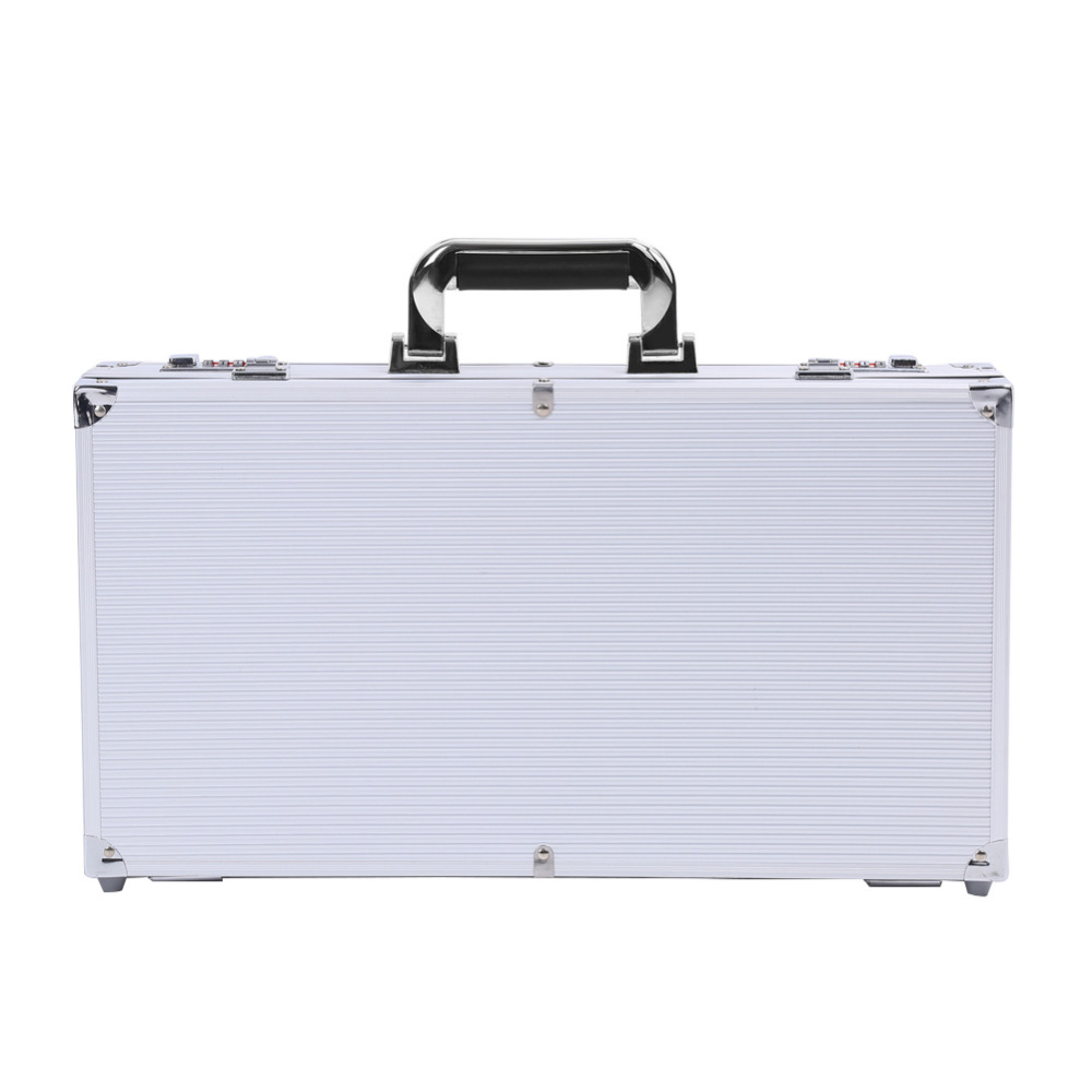 aluminum carry case organizer combination lock safe. Black Bedroom Furniture Sets. Home Design Ideas
