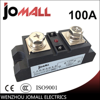 SSR 100A Industrial SSR Single Phase Solid State Relay 100A Input 3 32VDC Output 440AC