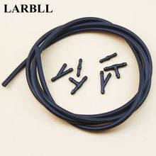 LARBLL 7Pcs/Set Windshield 200CM Universal Cars SUV Pickup Truck Wiper Water Jet Nozzle Hose kit with Connector For Ford Toyota