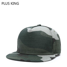 High Quality Cotton Camouflage Hip Hop Hat Green