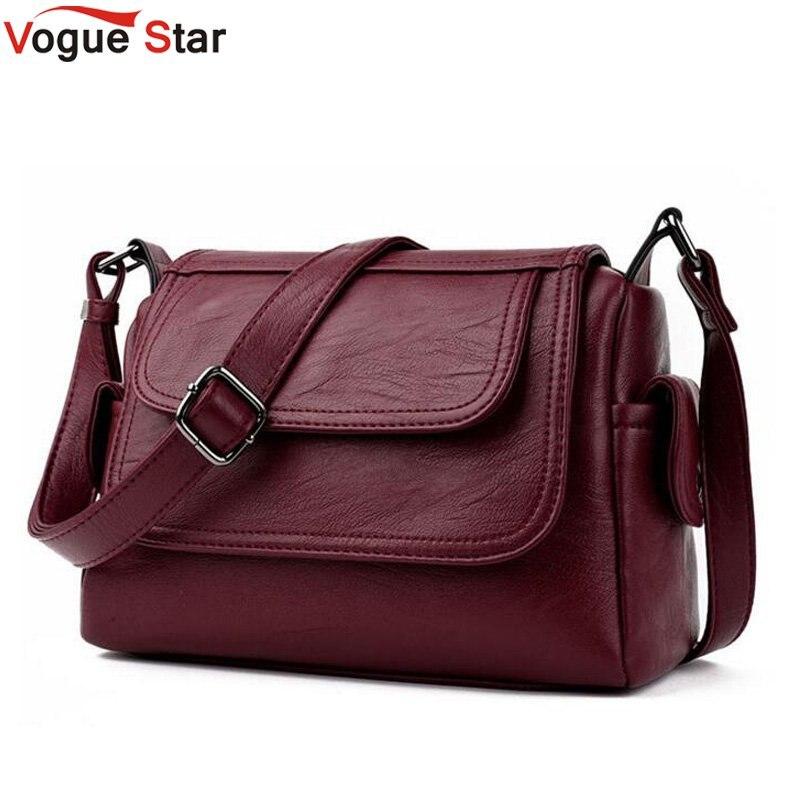 Vogue Star Brand 2017 Spring Summer Fashion Crossbody Bags Single Shoulder Bags Ladies PU Leather Bags Women Handbags New LB184 gl brand vogue 3colors jf0017