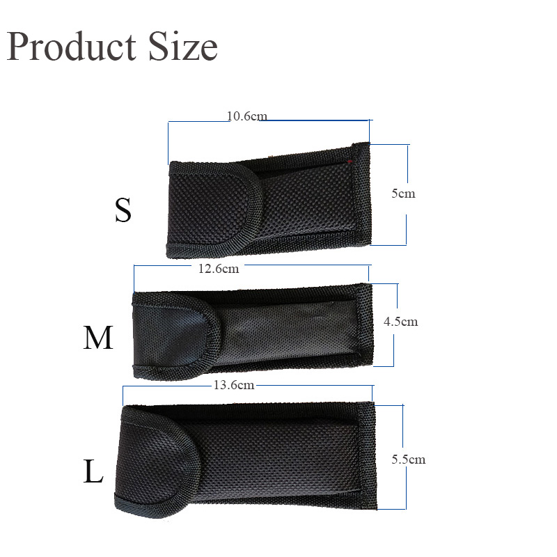 DUAN FA Outdoor Tools Nylon Clip Case Folding Pliers Army Knives Cover Bags Scabbard Pouch Waist Pack Wood Knife Sets