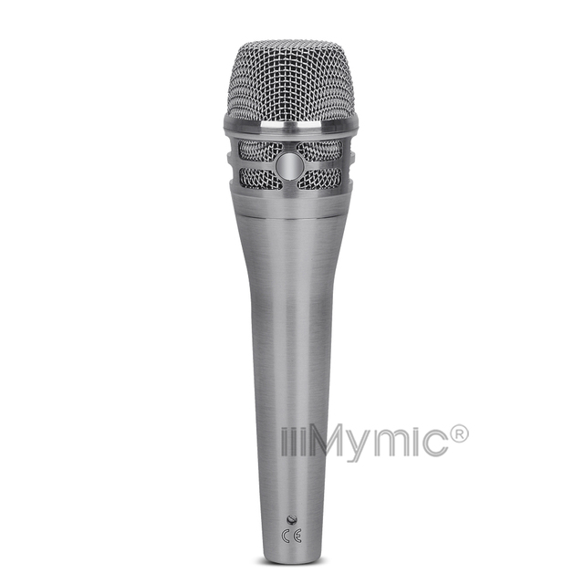 Top Quality K8 Live Vocals Wired Microphone !! Professional K8/N Handheld Karaoke Super-Cardioid Dynamic Podcast Mic Mike