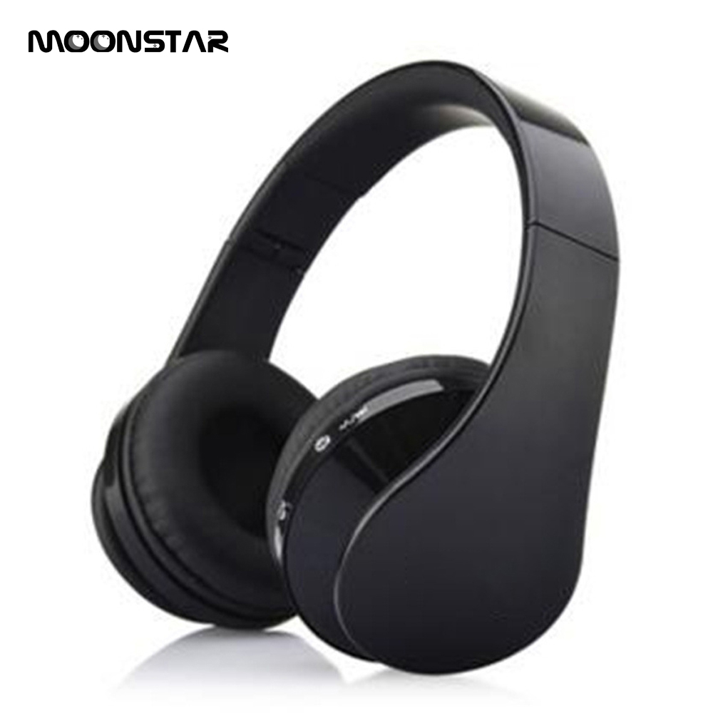 Hot pin Casque sans fil Intelligent noise reduction Bluetooth 3.0 Wireless Headphones Support Audio Line mp3 For Android iphone