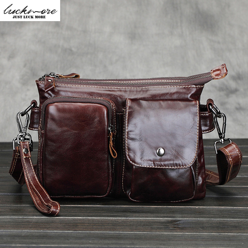 Fashion GenuineLeather Wristlet Hand Bag Men Messenger Bags Designer Cowhide Man Crossbody Shoulder Handbags borse High Quality men messenger bags man shoulder classic hand bag guaranteed 100