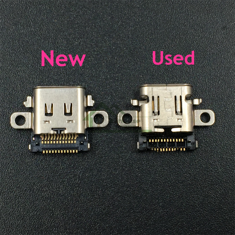 Original Charging Port Socket Power Connector Type-C Charger Socket Replacement For Nintend Switch NS Console Repair