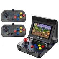 Ретро ручной игровой консоли 4,3 дюймов Встроенный 3000 классических игр для NEOGEO/GBC/FC/CP1/CP2/GB/GBA/SNES/MD